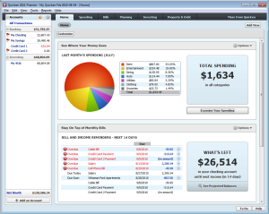 Quicken-2011-Home-Page